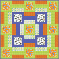 Minkee Blankee Cot Quilt - Cloth Doll Patterns and Country Craft