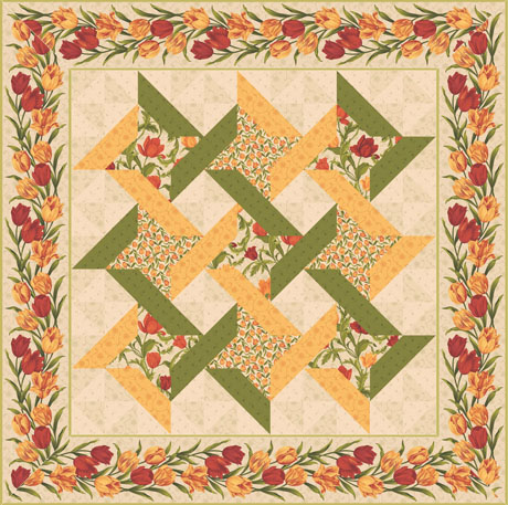 Free Quilt Patterns For Throws : THROW SIZE QUILT PATTERNS FREE Quilt Pattern