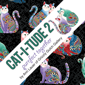 Cat I Tude 2 Purrfect Together Benartex