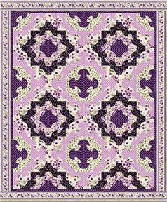 Free patterns kanvas - Enchanted garden collection free download ...